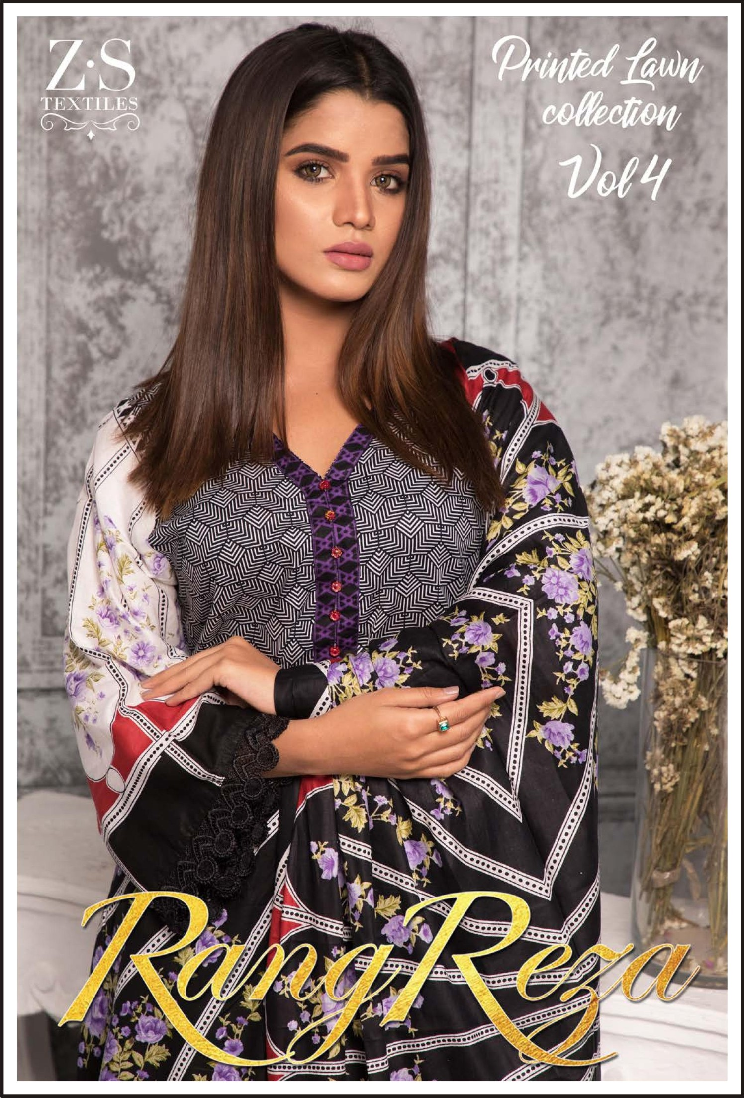 6e98cb3640 RANGREZA Printed Summer Collection By ZS Textile Vol-4. 2019 – Imaan ...